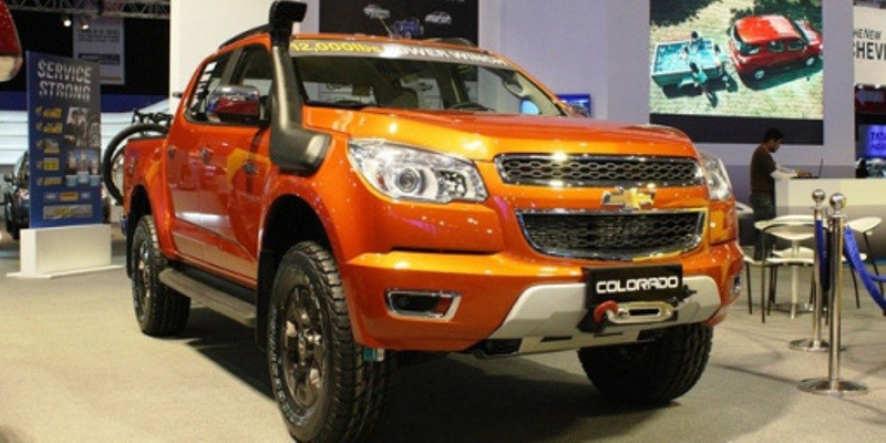 Chevrolet Double Cabin Terbaru Colorado Tracker Bintom