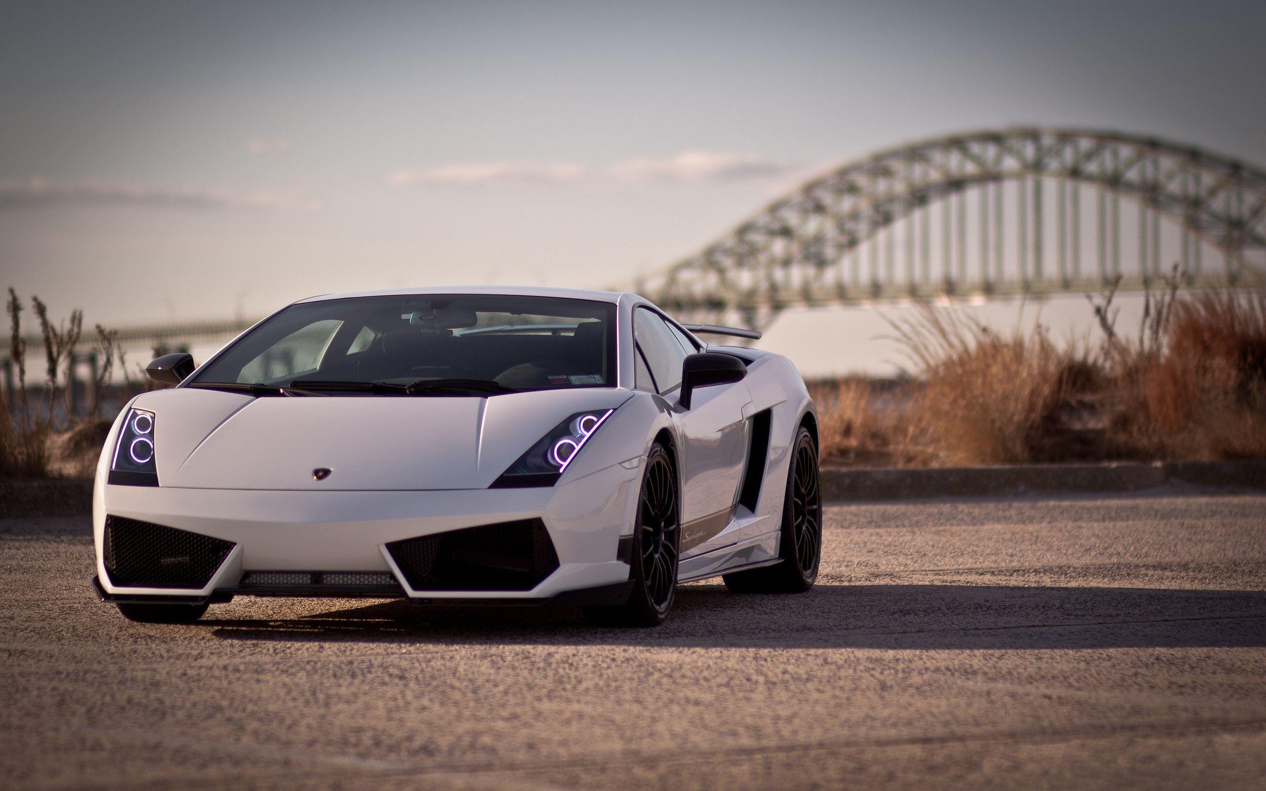 Lamborghini Gallardo White