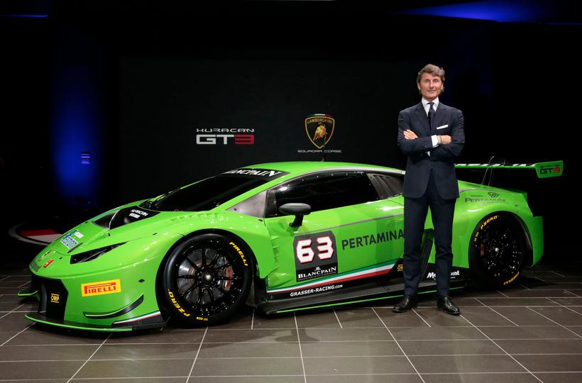 Keren! Lamborghini Pakai Pelumas Buatan Pertamina!