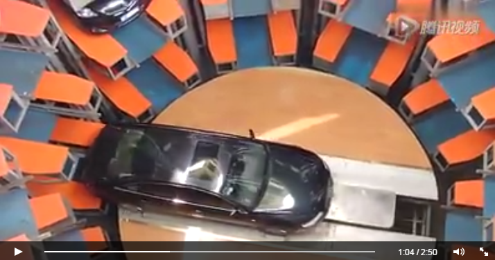 model parkir mobil modern