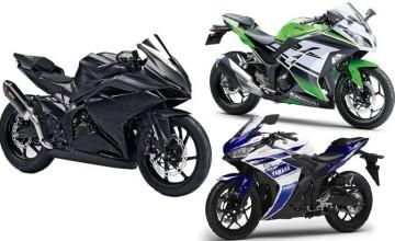 Adu Kegagahan Antara Honda CBR 250rr Terbaru VS Ninja 250 2016 Dan Yamaha R25 2016