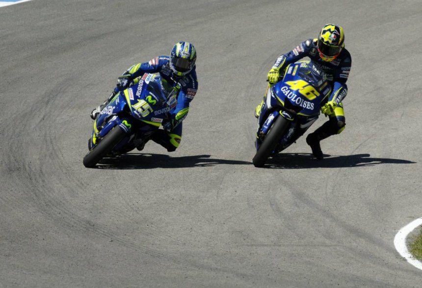 Duel Valentino Rossi vs Gibernau