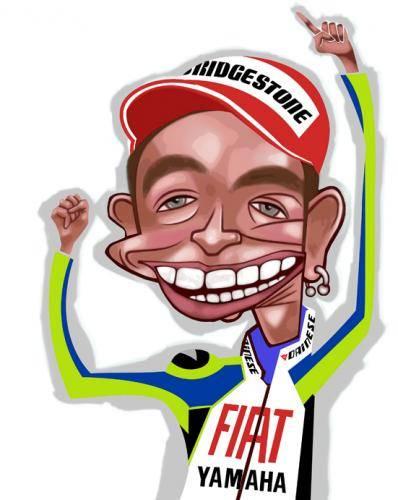 Kartun MotoGP Valentino Rossi 4