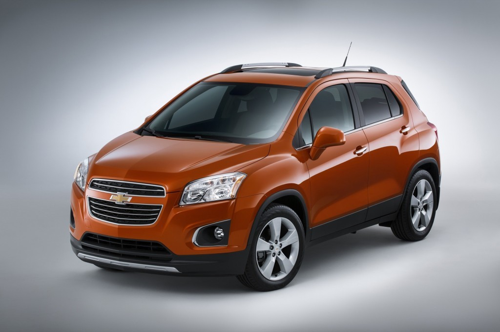 2015 Chevrolet Trax Front 3/4
