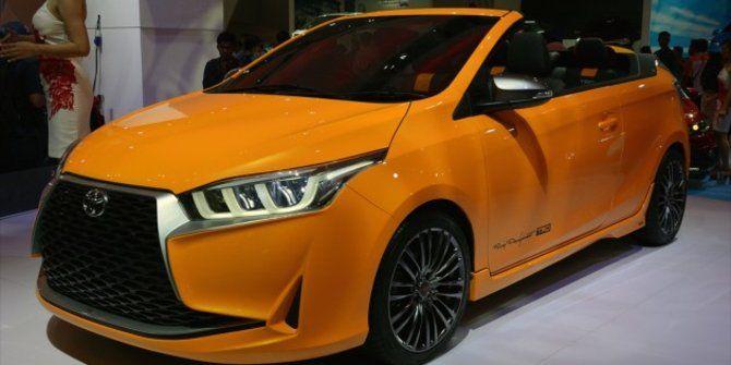 Toyota Yaris Legian Convertible Hadir Kembali Di Poma 2015 Bintom Juni 2017