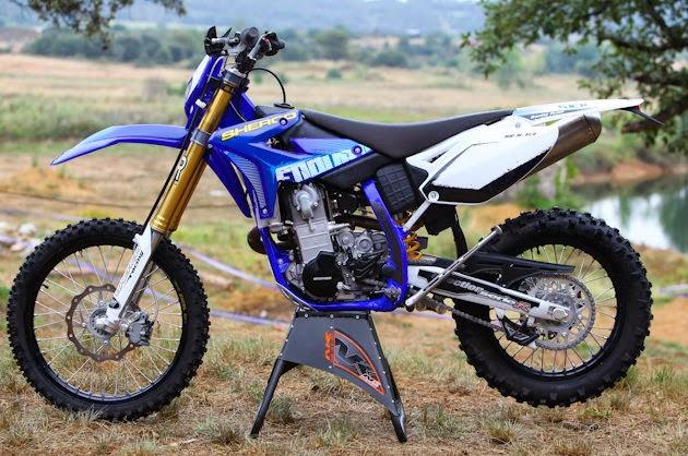 Motor Offroad Trail Sherco - Si Stylish Berperawakan Gagah