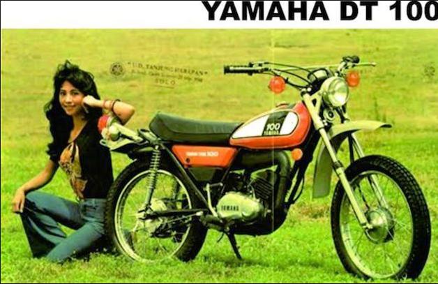 iklan jadul yamaha dt100